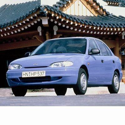 Autó izzók halogén izzóval szerelt Hyundai Accent (1995-2000)-hez