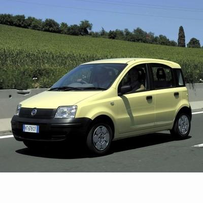 Autó izzók két halogén izzóval szerelt Fiat Panda (2003-2012)-hoz