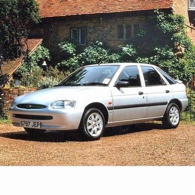 Ford Escort (1995-2000) autó izzó