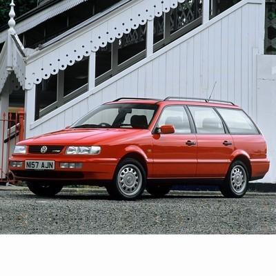 For Volkswagen Passat Variant B4 (1993-1996) with Halogen Lamps