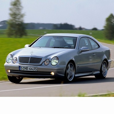 For Mercedes CLK (1997-2002) with Halogen Lamps