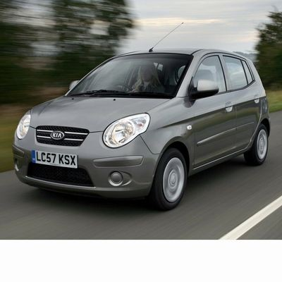 For Kia Picanto (2004-2011) with Halogen Lamps
