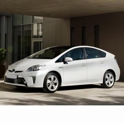 Autó izzók a 2009 utáni ledes fényszóróval szerelt  Toyota Prius-hoz