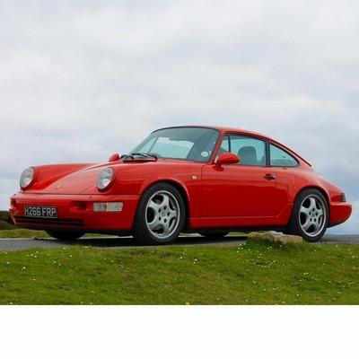Autó izzók halogén izzóval szerelt Porsche 911 (1988-1993)-hez