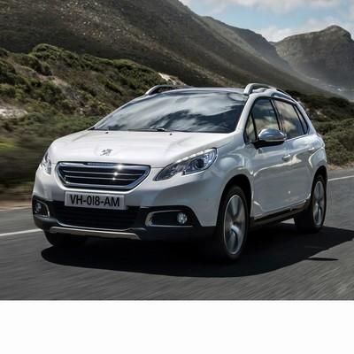 Autó izzók a 2013 utáni halogén izzóval szerelt Peugeot 2008-hoz