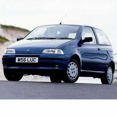 Fiat Punto (1993-1999) autó izzó