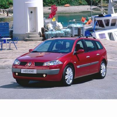 For Renault Megane Kombi (2003-2008) with Halogen Lamps