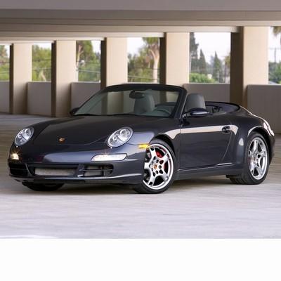 Autó izzók halogén izzóval szerelt Porsche 911 Cabrio (2005-2008)-hoz