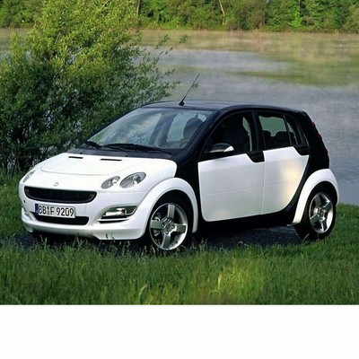 For Smart Forfour (2004-2006) with Halogen Lamps