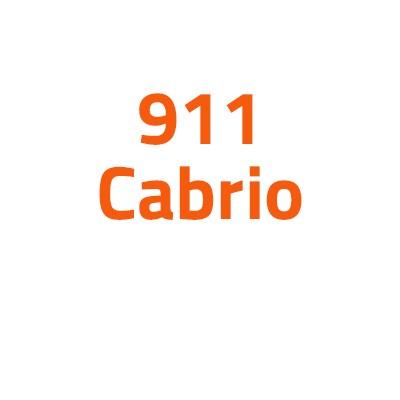 Porsche 911 Cabrio autó izzó