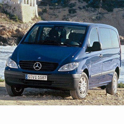 For Mercedes Viano (2003-2010) with Halogen Lamps