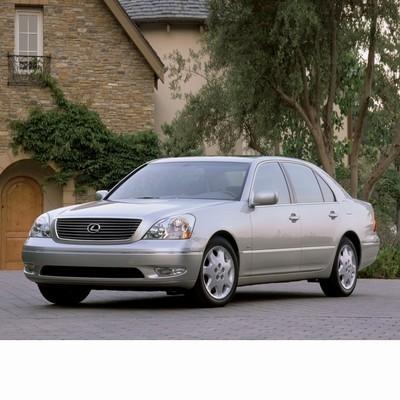 For Lexus LS (2000-2006) with Halogen Lamps