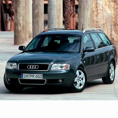 For Audi A6 Avants (2002-2004) with Halogen Lamps
