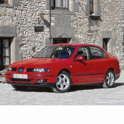 For Seat Toledo (1998-2005) with Halogen Lamps