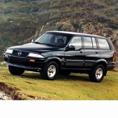 Autó izzók halogén izzóval szerelt Ssangyong Musso (1993-2005)-hoz