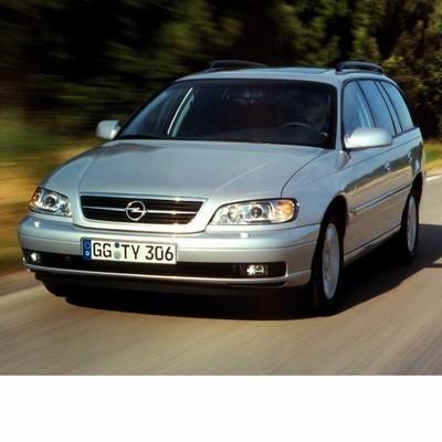 Autó izzók halogén izzóval szerelt Opel Omega B Kombi (1999-2003)-hoz