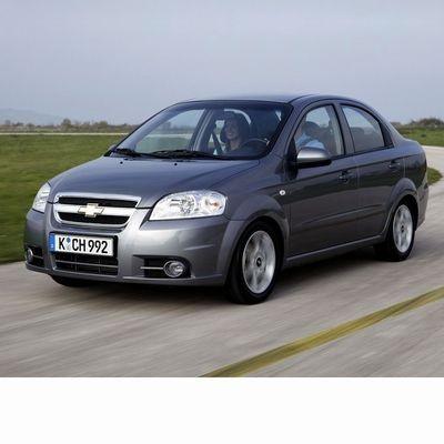 Autó izzók halogén izzóval szerelt Chevrolet Aveo Sedan (2005-2011)-hoz