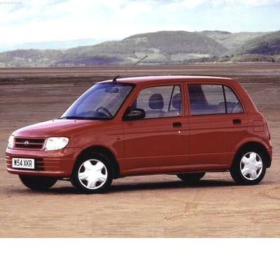 Autó izzók halogén izzóval szerelt Daihatsu Cuore (2002-2006)-hez
