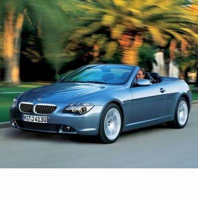 BMW 6 Cabrio (E64) 2004 autó izzó