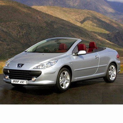 For Peugeot 307 Coupe (2005-2008) with Halogen Lamps