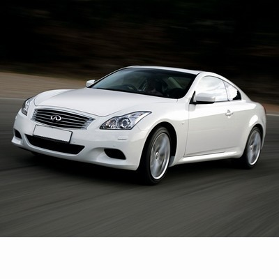 Autó izzók a 2007 utáni xenon izzóval szerelt Infiniti G Coupe (V36)-hoz