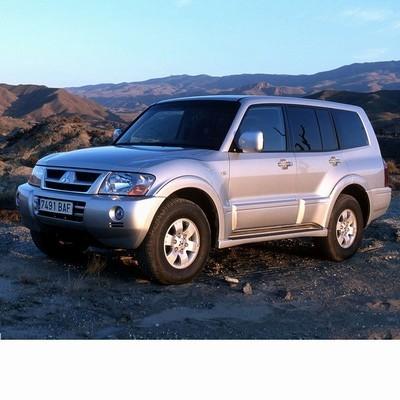 Autó izzók halogén izzóval szerelt Mitsubishi Pajero (2002-2006)-hoz