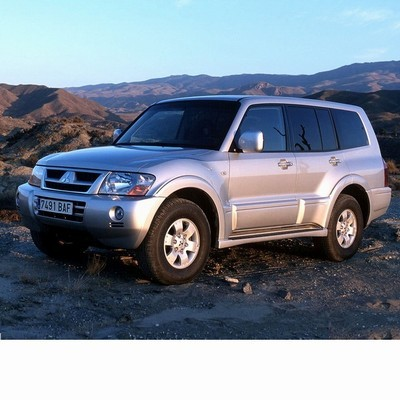 For Mitsubishi Pajero (2002-2006) with Halogen Lamps