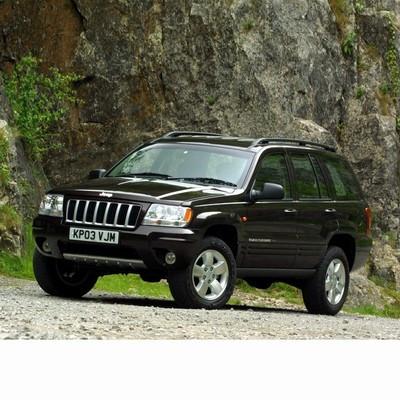 Autó izzók halogén izzóval szerelt Jeep Grand Cherokee (1999-2005)-hoz