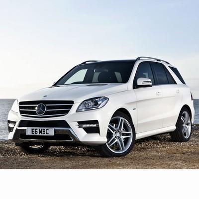 Autó izzók a 2011 utáni halogén izzóval szerelt Mercedes M-hez