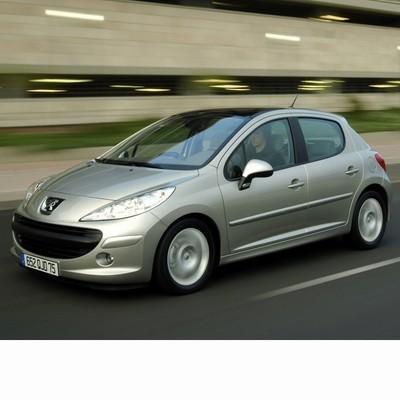 Autó izzók halogén izzóval szerelt Peugeot 207 (2006-2009)-hez