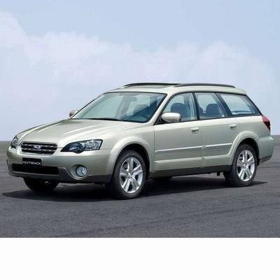 Autó izzók halogén izzóval szerelt Subaru Outback (2003-2009)-hez