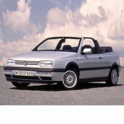 Autó izzók két halogén izzóval szerelt Volkswagen Golf III Cabrio (1993-1998)-hoz