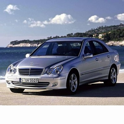 For Mercedes C Sedan (2000-2007) with Halogen Lamps