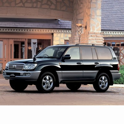 Autó izzók halogén izzóval szerelt Toyota Land Cruiser J10 (2002-2007)-hez