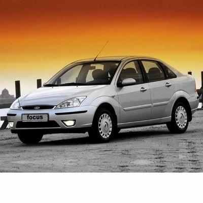 Autó izzók halogén izzóval szerelt Ford Focus Sedan (2001-2004)-hoz