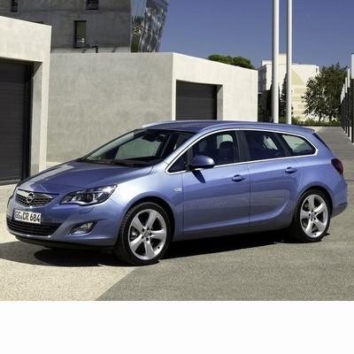 Autó izzók halogén izzóval szerelt Opel Astra J Kombi (2010-2012)-hoz