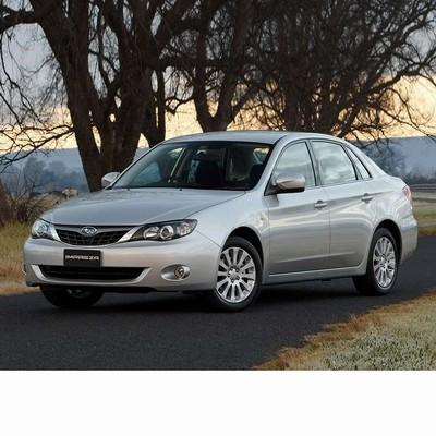 Autó izzók xenon izzóval szerelt Subaru Impreza Sedan (2008-2012)-hoz