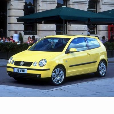 Autó izzók halogén izzóval szerelt Volkswagen Polo (2001-2009)-hoz