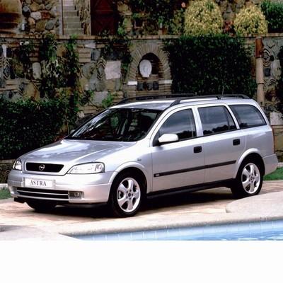 Autó izzók halogén izzóval szerelt Opel Astra G Kombi (1998-2004)-hoz