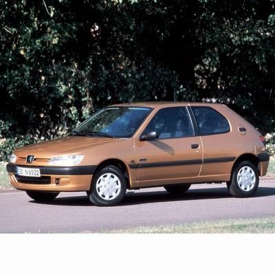 Autó izzók két halogén izzóval szerelt Peugeot 306 (1997-2001)-hoz