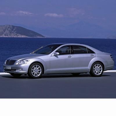 Autó izzók halogén izzóval szerelt Mercedes S (2005-2013)-hez