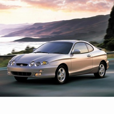 For Hyundai Coupe (1996-2002) with Halogen Lamps