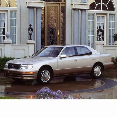 Lexus LS (1994-2000) autó izzó