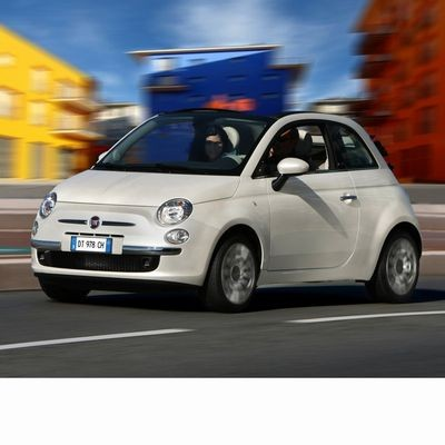 For Fiat 500 C after 2009 with Halogen Lamps