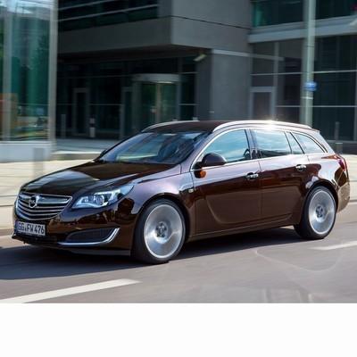 Autó izzók a 2014 utáni halogén izzóval szerelt Opel Insignia Kombi-hoz
