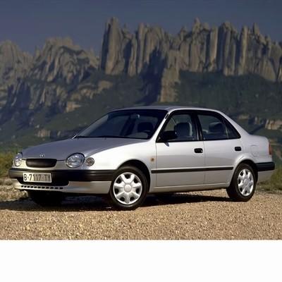 Toyota Corolla Sedan (1997-2002) autó izzó