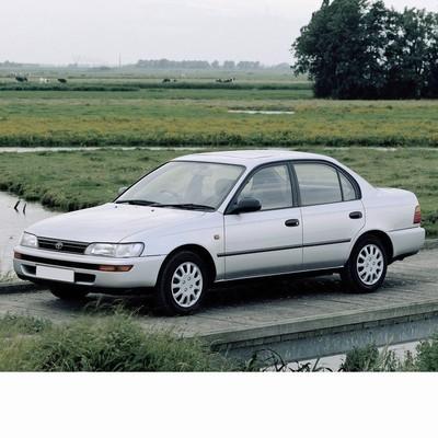 Autó izzók halogén izzóval szerelt Toyota Corolla Sedan (1991-1997)-hoz