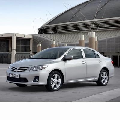 Autó izzók halogén izzóval szerelt Toyota Corolla Sedan (2007-2013)-hoz