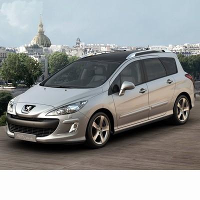Autó izzók halogén izzóval szerelt Peugeot 308 Kombi (2008-2014)-hoz