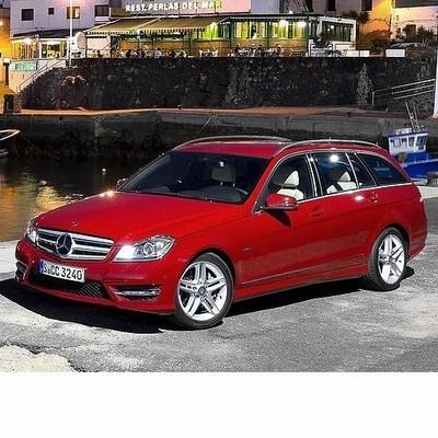 Autó izzók halogén izzóval szerelt Mercedes C Kombi (2010-2014)-hoz